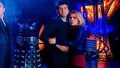 doctor who David Tennant Billie Piper Rose Tyler mine 2 new Tenth Doctor ten x rose series 4 series 2 DW gif by me dwedit otp meme dredits o...