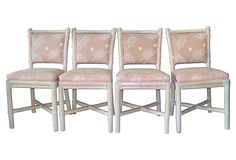 Bamboo Chairs by McGuire, S/4 on OneKingsLane.com