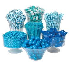 This bulk candy assortment has all you need to create a classic candy buffet. This blue candy buffet assortment makes a wonderful addition to birthday parties, events and baby boy baby showers! Baby Shower Table Centerpieces, Baby Shower Decorations For Boys, Baby Shower Themes, Candy Centerpieces, Shower Ideas, Shower Pics, Baptism Centerpieces, Birthday Centerpieces, Blue Candy Bars