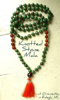 Knotted Stone Mala | Ornamentea.com's Fine Craft Tutorials & Project Ideas!