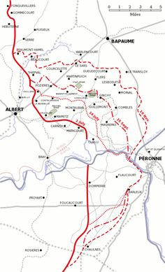 Map of the western front showing ww1 battlefield locations in battle of the somme map 1916 gumiabroncs Image collections