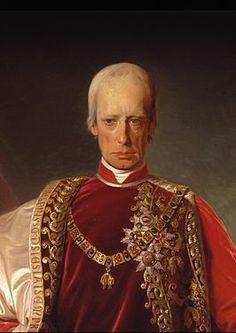 Portret van keizer Frans I door Friedrich von Amerling, 1832.