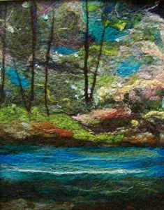 #582 River Runs Too  by Deebs Fiber Arts, via Flickr