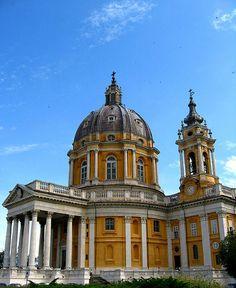Basilica di Superga, Torino- Filippo Juvarra, province of Turin , Piemonte region Italy .