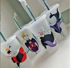 Your place to buy and sell all things handmade Disney Inspired Characters MultiColored Silhouette Starbucks Tumbler Cup, Personalized Starbucks Cup, Starbucks Venti, Custom Starbucks Cup, Starbucks Secret Menu, Personalized Cups, Vinyl Crafts, Vinyl Projects, Disney Starbucks