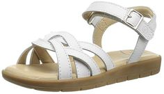 Shoes Stride Rite Millie Sandal (Toddler/Little Kid), White, 11 M US Little Kid