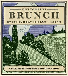 Bottomless Brunch - every sunday at the Gallow Green, a rooftop bar filled with gardens, plants and flowers <3