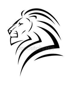 Lion tattoo  illustration