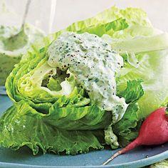 Four-Herb Green Goddess Dressing | Cookinglight.com