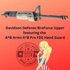 Davidson Defense BroForce with A*B Pro Hand Guard in FDE American, Memes, Meme