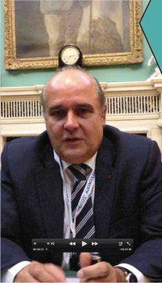 Manuel Pinto de Abreu, Secretary of State of the Sea, Portugal, who was in London recently for the BioMarine Business Convention 2012.