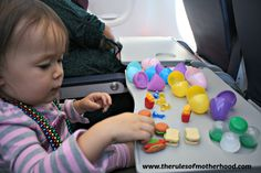 16 awesome ideas for keeping small children busy on an airplane