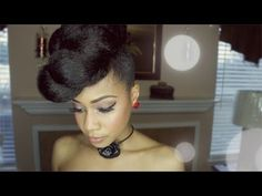 Extravagant Updo Protective Hairstyle This hair style is super easy. I could use one twist of the kanekalon hair to create a big bun.