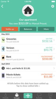 Splitwise - Split bills and expenses the easy way on the App Store