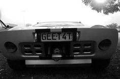 Ford GT rear, Vic, Australia. March, 2014