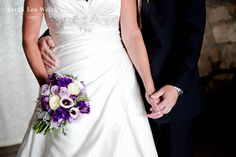 Picasso Calla Lilies and eggplant Calla Lilies accent this multi-bloom Bridal Bouquet by Florals by Rhonda llc.  Sarah Lee Welch Photography llc  http://www.floralsbyrhonda.com/gallery_W6SD.html