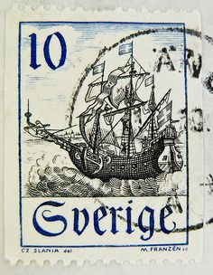stamp Sweden frimärken Sverige postage 10 öre sailing ship francobolli svezia Sveden frímerki Svíþjóð طوابع السويد timbre Suède 郵便切手 切手  スタンプ スウェーデン postimerkkejä Ruotsi แสตมป์ สวีเดน bélyegek Svédország марки Швеция 邮票 瑞典