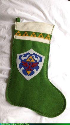 Legend of Zelda Christmas Stocking