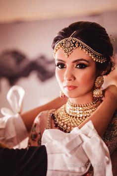 Swanky Antalya Wedding of this Blogger Boasted Lush Decor & Designer Outfits | ShaadiSaga Indian Wedding Bride, Indian Wedding Makeup, Bridal Makeup, Wedding Lehnga, Wedding Dress, Indian Bridal Photos, Indian Bridal Outfits, Wedding Outfits, Indian Wedding Photography Poses