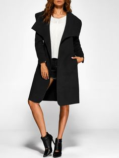 Belted Shawl Duster Coat 21.70 USD