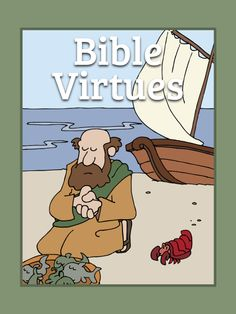 Bible virtues coloring book - FREE