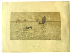 Guglielmo Ciardi Pittore (Venezia 1842 - 1917) Titolo  Libeggio