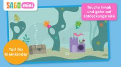 Sago Mini Ocean Swimmer (deutsch, GRATIS!) Empfohlenes Alter: bis 5 Jahre.