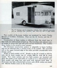 Teardrops n Tiny Travel Trailers • View topic - 1959 Vintage Scotsman Trailers Vintage Campers Trailers, Camper Trailers, Insulation Sheets, Rv Financing, Vintage Rv, Solar Energy Panels, Rv Storage, Rv Living, Recreational Vehicles