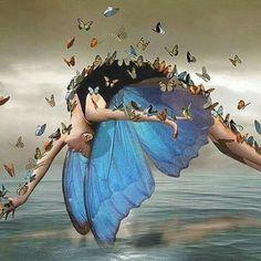 Dancing Art Painting Tutus 42 New Ideas Art Papillon, Wow Art, Butterfly Art, Butterfly Quotes, Butterfly Kisses, Fairy Art, Beautiful Butterflies, Surreal Art, Oeuvre D'art