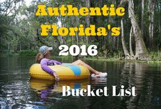 Authentic Florida's 2016 Bucket List