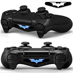 2PCS High Qaulity PVC Decal Skin Custom For Playstation 4 LED Light Bar Decal Sticker for PS4 Dualshock Controller Hot selling