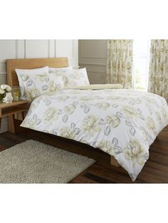 Life From Coloroll Memoires Duvet Set Natural Bedroom