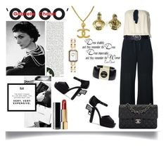 """""""Chanel"""" by jeneric2015 ❤ liked on Polyvore featuring Chanel"""
