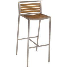 Hayman Outdoor Bar Stool- Backrest