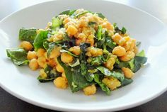 MaxterChef: Chickpeas with Spinach and Cumin
