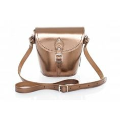 Zatchels Leather Barrel Bag, £55.