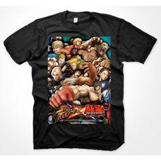 Street Fighter X Tekken Poster Shirt