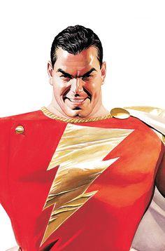 Alex Ross Shazam Wallpaper Captain Marvelshazam