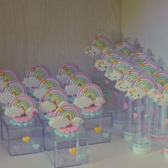 Pretty Wallpapers, Baby Shower, Biscuits, Diy Baby Shower, Heaven, Rainbow Birthday, Rain, Decorations, Cookies