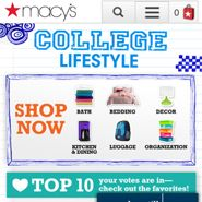 Macy's and Office Depot aretwo of the marketers leveraging mobile to tie into social issues or provide valuable shopping assistance as they look to drive more thanten percent of sales from mobile. At the same time, the influence of smartphones on back-to-school sales is up significantly this year, with 78 percent of smartphone owners using their devices for back-to-school shopping, up from 65 percent last year, according to a new survey from Deloitte.