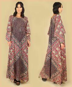 o neill india maxi dress 70s