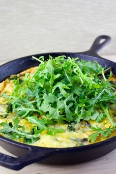 Kale & Potato Frittata