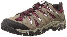 Merrell Women's Mojave Hiking Shoe, Boulder/Red, 10.5 M U...
