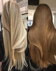 Likes, 16 Comments - Cabelos Longos Gorgeous Hair Color, Beautiful Long Hair, New Hair Do, Love Hair, Hair Junkie, Honey Blonde Hair, Very Long Hair, Silky Hair, Dream Hair