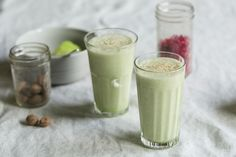 Part smoothie, part milkshake, this honeydew frosty has it all. Perfectly refreshing, sweet but complex, great on its own or with whiskey for the weekend. Smoothie Recipes For Kids, Protein Smoothie Recipes, Breakfast Smoothie Recipes, Smoothies, Dog Treat Recipes, Fruit Recipes, Dog Food Recipes, Blueberry Fruit, Mario Batali