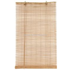 Store enrouleur à baguettes (40 x H90 cm) Bambou Naturel | Eminza                                                                                                                                                                                 Plus