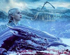 "163 Likes, 5 Comments - Deanerys Targaryen (@daenerysstormbornx) on Instagram: ""If I look back. I'm lost. • • • • • • • • • • • #daenerys #daenerystargaryen #stormborn…"""