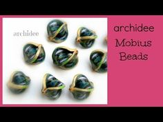Tutorial   Polymer Clay   DIY Mobius Beads - YouTube