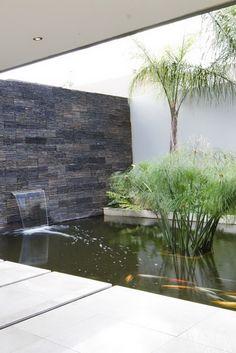 House Sed | Koi pond | Nico van der Meulen Architects #Architecture #Contemporary #Water