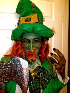 St. Patrick\'s Day Costumes: Goblin / Leprechaun Mask (details at ...